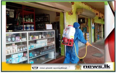 Navy conducts another disinfection programme in Kotawehera