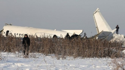 Kazakhstan plane crash: Bek Air plane comes down near Almaty airport Less than a minute ago